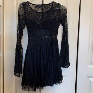LF Dresses - LF black lace dress
